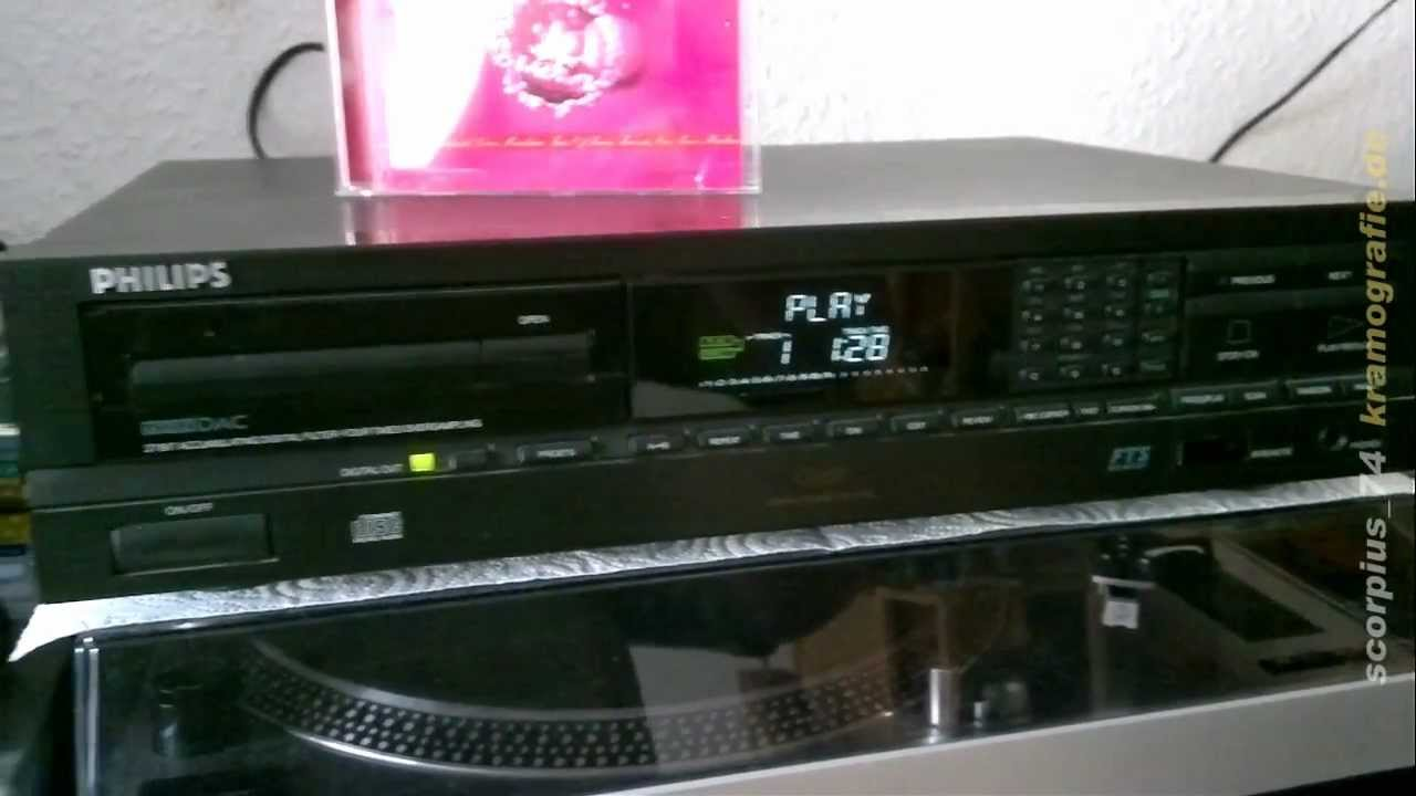 philips cd 630 cd player youtube. Black Bedroom Furniture Sets. Home Design Ideas