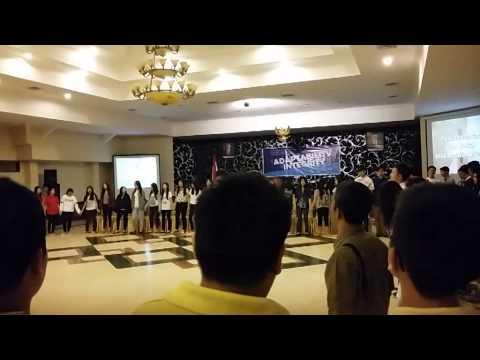 Perpisahan SMP Kristen Gloria 1 Surabaya 2014/2015