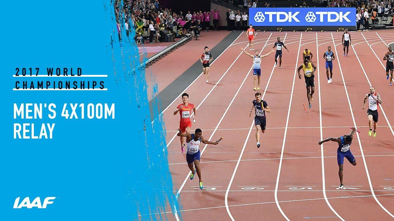 Download Men's 4x100m Relay Final | IAAF World Championships London 2017