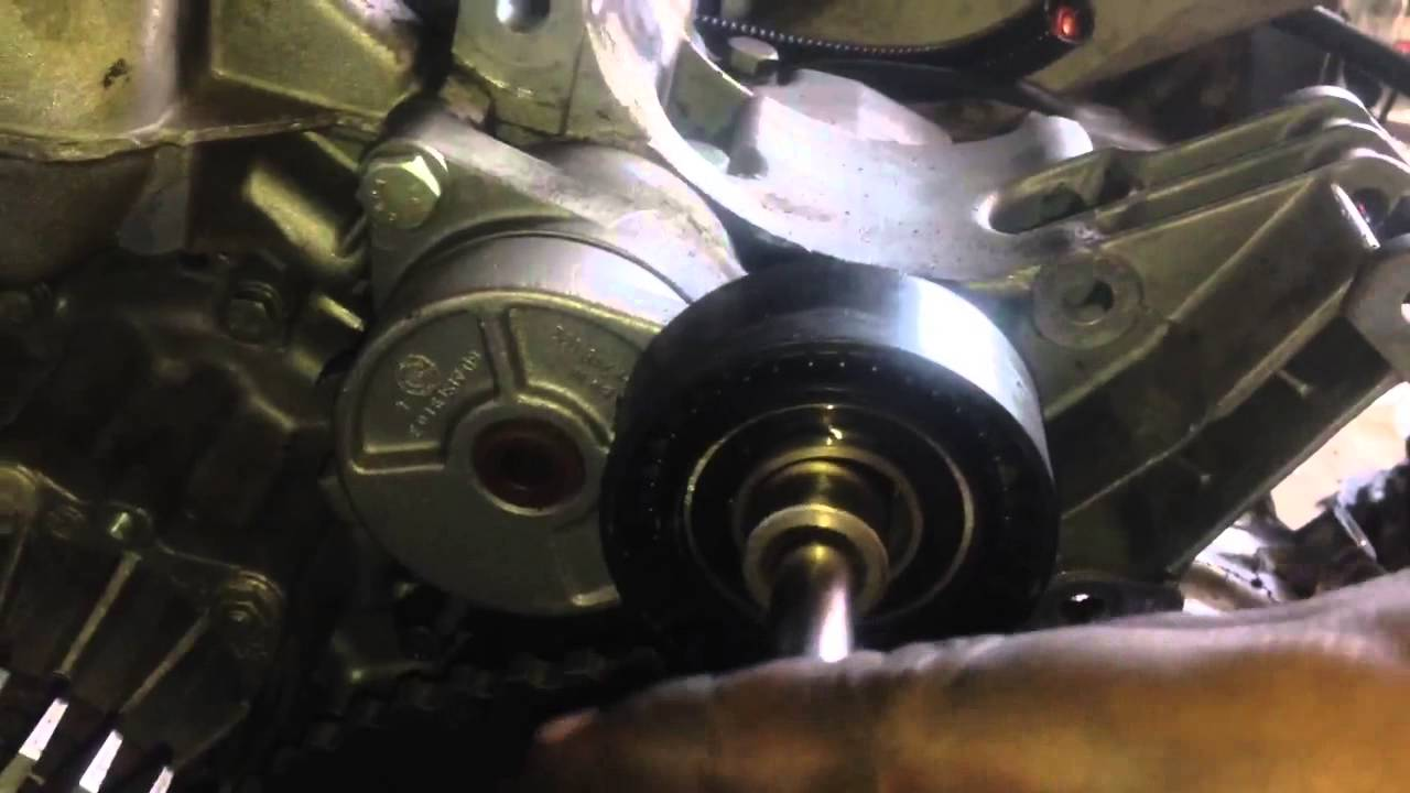 Two Different Types Of Belt Tensioners BMW 5 Series 3