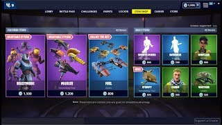 Peau de 'NEW'Beastmode et Pioche Mauler ! Fortnite Item Shop 24 mars 2019