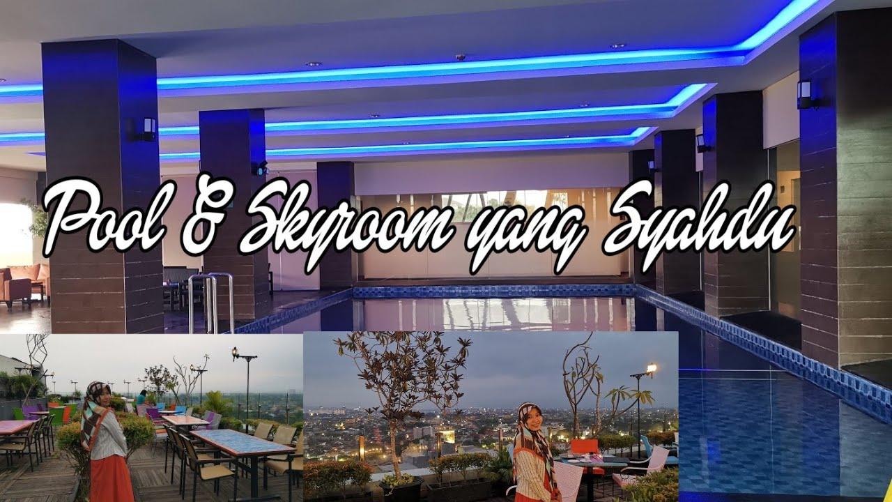 Pool Dan Skyroom Di Rooftop The 101 Malang Oj Hotel Youtube
