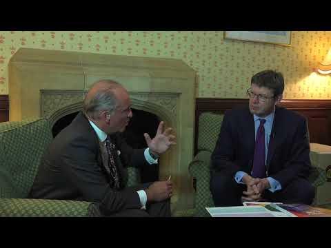 Lord Mayor interviews Greg Clark on Trust
