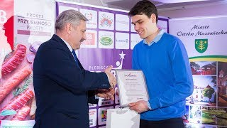 Sportowiec Roku 2017. Nagroda dla Huberta Milewskiego