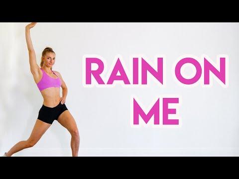 Lady Gaga, Ariana Grande - Rain On Me FULL BODY DANCE WORKOUT