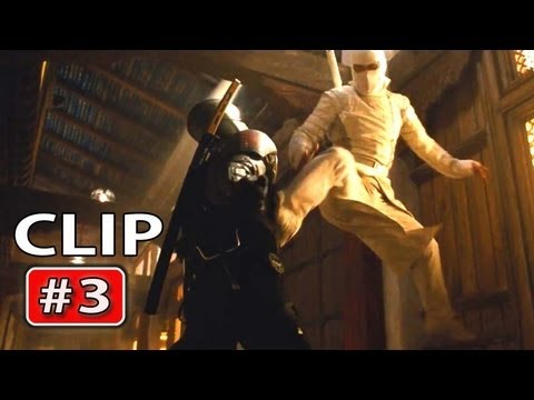"Gi Joe 2 RETALIATION   ""Snake Eyes vs Storm Shadow"" Fight Clip"