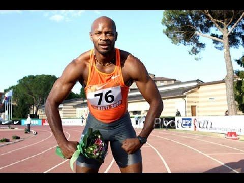 Asafa Powell runs World Leading time of 6.49 in Men's 60M in Houston 2016