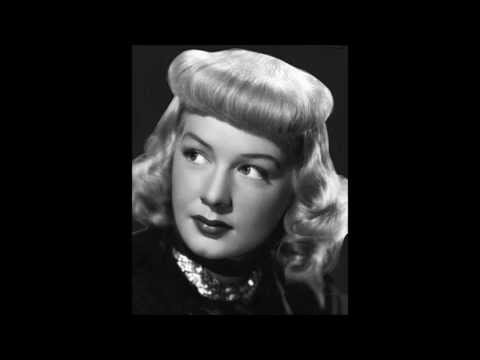 Betty Hutton It had to be you