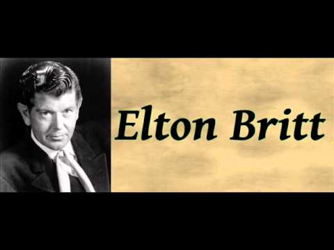 Elton Britt - Lost Highway / A Convict And A Rose