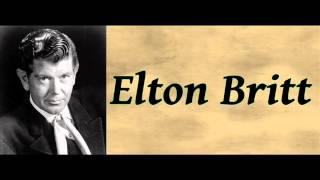 Whoopie Ti Yi Yo Git Along Little Doggies - Elton Britt