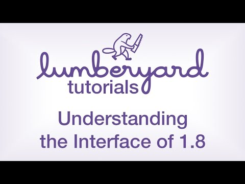 Getting Started: Understanding the interface