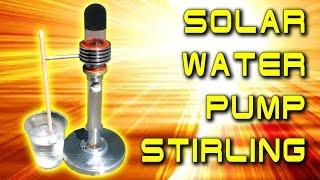 СОЛНЕЧНЫЙ ВОДЯНОЙ НАСОС SOLAR WATER PUMP STIRLING ENGINE ДВИГАТЕЛЬ СТИРЛИНГА ИГОРЬ БЕЛЕЦКИЙ