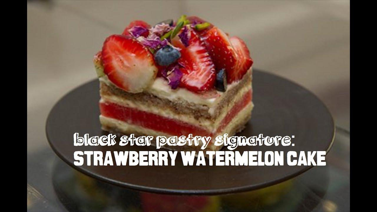 Watermelon Cake Recipe Black Star