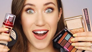Trying TONS of NEW Drugstore Makeup 😍