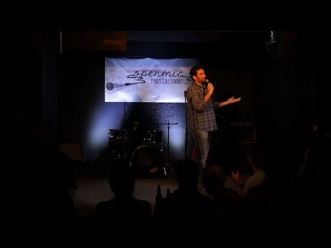 Greece finds stand-up comedy amid economic tragedy