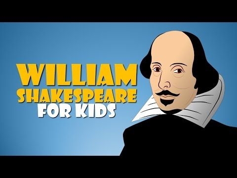 William Shakespeare for Kids (Fun Facts about William Shakespeare Cartoon)
