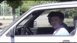 Темиртау. Пристыдили молодого полицейского за понты на дороге