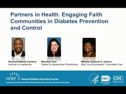 Partners In Health. Engaging Faith Communities In Diabetes Prevention And Control