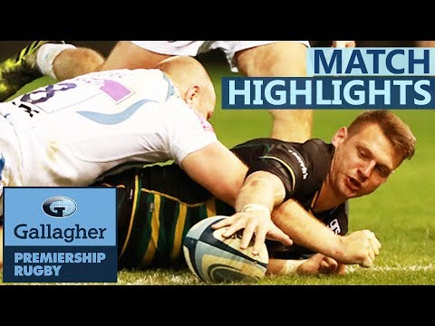 Northampton 31-28 Exeter | Leaders Shocked In Nail-Biter! | Gallagher Premiership - Highlights