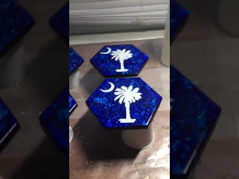 DIY Epoxy Resin Coasters Part 1