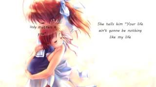 ღ Nightcore - Rockabye with official lyrics original by clean bandit ft. anne-marie & sean paul