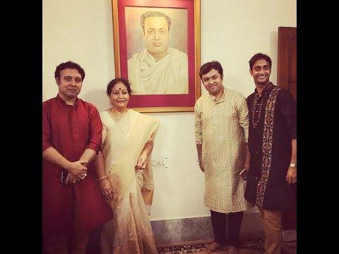 Vidushi Mandira Lahiri With Pran Gopal Bandopadhyay & Anirban Das