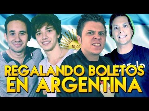 LOS YOUTUBERS EN ARGENTINA 1 ◀︎▶︎WEREVERTUMORRO◀︎▶︎