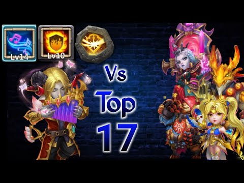 Rambard Vs Top-17 😲 | 0 BT Vs 30 BT Hero😅😎 | 10 Flame Guard | Survival | 5 VL| Castle Clash