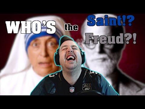 NEED THERAPY & A BAPTISM AFTER THIS ONE!! | DarkStar Reacts to ERB (Sigmund Freud vs. Mother Teresa)