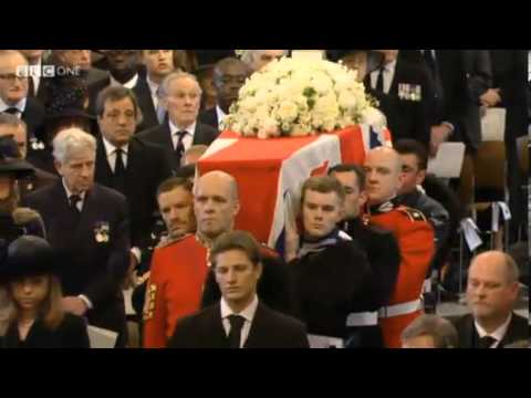 The Funeral of Baroness Thatcher Church The Sentences William Croft St. Paul's Cathedral Choir