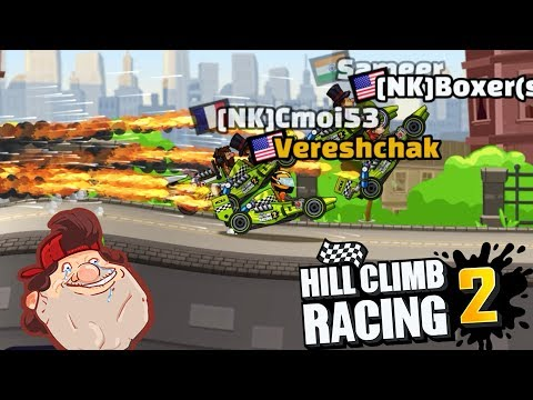 Hill Climb Racing 2 - Daily Challenges / Rubberist - GamePlay - 동영상