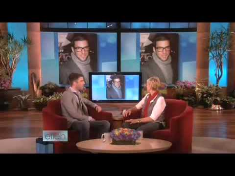 "Zachary Quinto talks about his new movie ""Star Trek's"" on Ellen Degeneres Show"