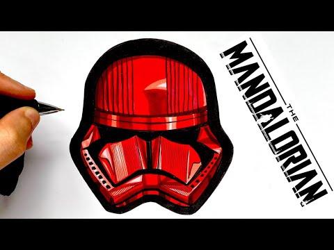 Como Dibujar Stormtrooper Rojo Srar Wars Youtube