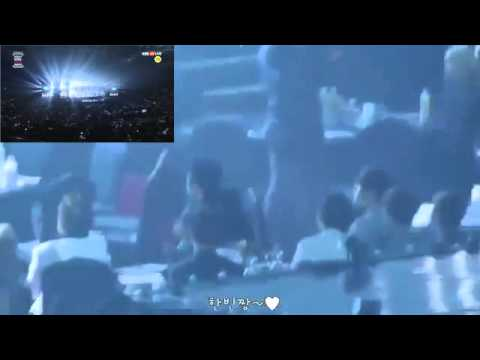 [160114] iKON reaction to BTS - Dope & Run @ Seoul Music Awards