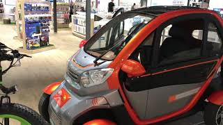 Нет Бензину!!Электромобиль ROVER Quick 2000 orange