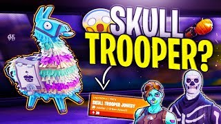 SKULL TROOPER? BIGGEST Fortnite Birthday LLAMA OPENING! x14 *INSANE* In Fortnite Save The World