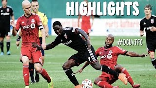 HIGHLIGHTS: D.C. United vs Toronto FC | July 30th, 2014
