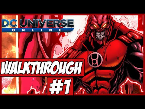 DC Universe Online Walkthrough Ep.1 w/Angel - Character Creation!