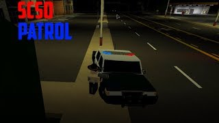 A RACE! | SCSO PATROL #1 | State of Firestone ROBLOX