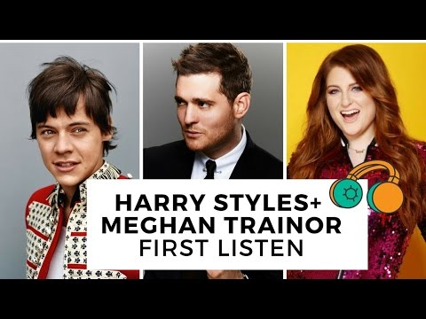 Harry Styles & Meghan Trainor's New Song For Michael Buble´ Is Here! | Hollywire