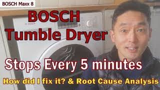 BOSCH Tumble Dryer Keeps Stopping - How to Fix