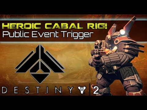 HOW TO TRIGGER HEROIC CABAL INJECTION RIG PUBLIC EVENT! (Patrol Heroic Difficulty guide & tutorial)