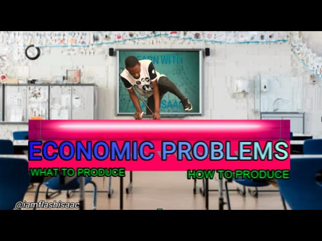 Economic Problems & Solutions | With Solved Problems