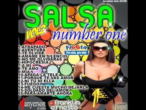 SALSA NUMBER ONE VOL 2 - DJ ANYERSON FT FRANKLIN ERNESTO