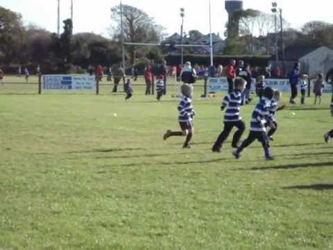 Crosshaven U8 Rugby Joshua McCarthy Try