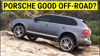 Why Porsche Cayenne is Great 4x4 Off Road SUV