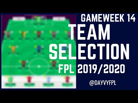 ABRAHAM INJURED?! MY FPL GAMEWEEK 14 TEAM! FANTASY PREMIER LEAGUE 2019/2020!