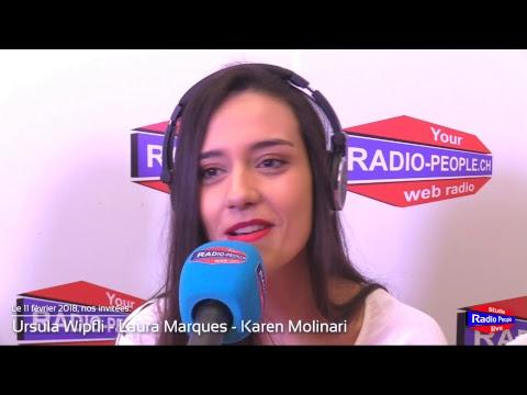 Ursula Wipfli - Laura Marques - Karen Molinari - Candidates Miss Suisse 2018 - 11.02.2018