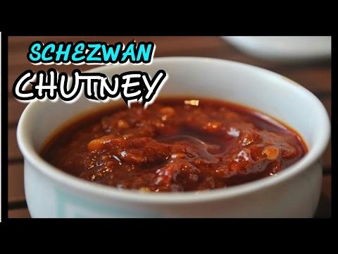 Schezwan Chutney Recipe / How To Make Schezwan Sauce/ chinese food