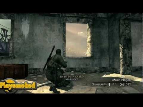 EPIC SHOOT Sniper Élite V2(através De La Mira Telescópica)Xbox360